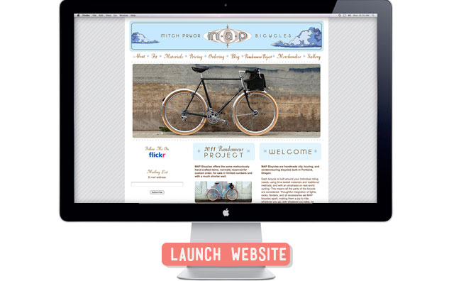 MAP-Bicycles-Website