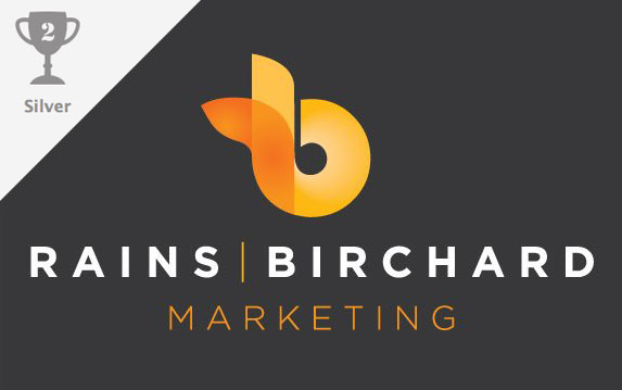 Rains Birchard Marketing logo design