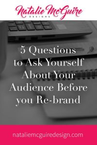 5 Questions to Ask Yourself About Your Audience Before You Re-Brand