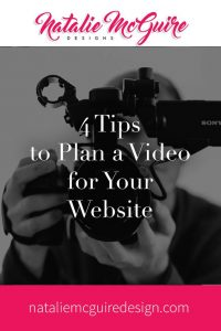 4 Tips to Plan a Video for Your Website