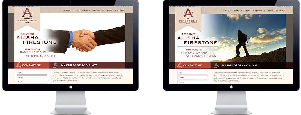 A. Firestone Law: Portland Website Design