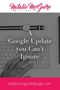 A Google Update You Can'ts Ignore