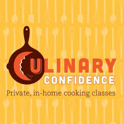 culinary confidence chef logo design