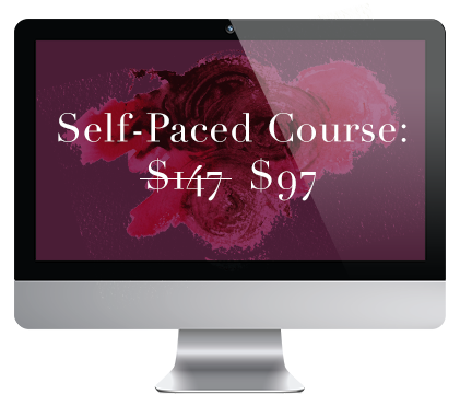 self-paced course $97
